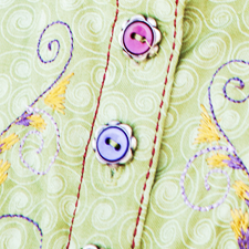 Sewing Precise Buttonholes Made Easy