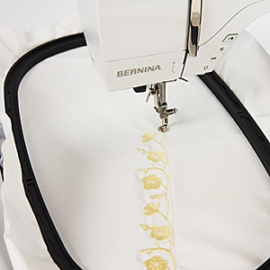 Extra-large embroidery are for large designs