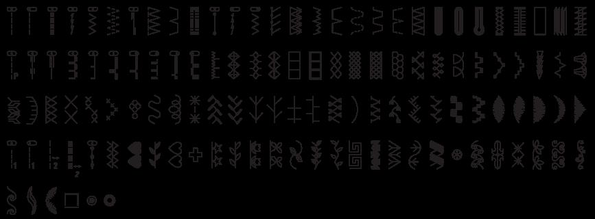 Stitch Pattern Bernette 38