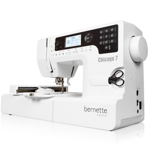 Bernette Chicago 7 Sewing and Embroidery Combo