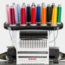 BERNINA E 16 - 16 Needle Embroidery Machine With Metal Stand