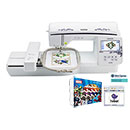 Brother Innov-is NQ1600E Embroidery Machine (FREE Marvel Thread Kit and Stitch Express Auto Digitizing Software)
