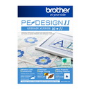 Brother PE-DESIGN 11 Upgrade Personal Embroidery and Sewing Digitizing Software Upgrade