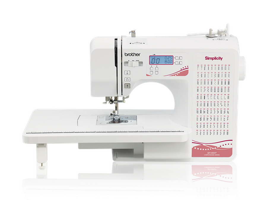 Brother Simplicity SB40T Computerized Sewing Machine With Included Classy Simplicity Fashion Pro Sewing Machine