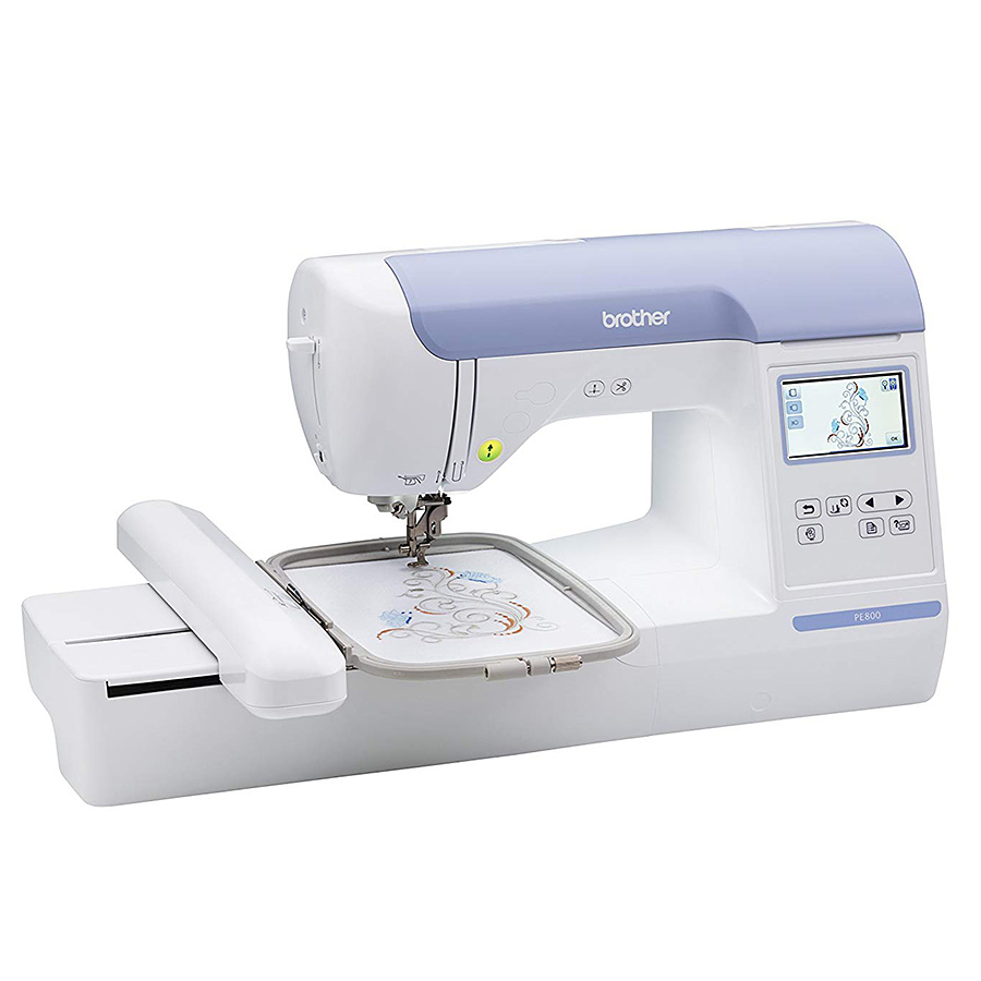 Brother PE40 Embroidery Machine 40x40 Embroidery Machine Classy Brother P 1000 Sewing Machine