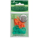 Clover Knitting Lock Ring Markers
