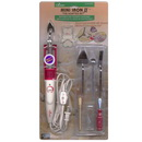 Clover Mini Iron II The Adaptor  Set,  includes 5 tips - CL9101
