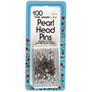 Collins Pearl Head Pins White