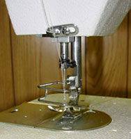 Single Needle, Drop Feed, Zig-Zag, Lockstitch Machine