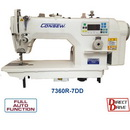 Consew 7360r-7dd Sewing Machine With Assembled Table And Motor