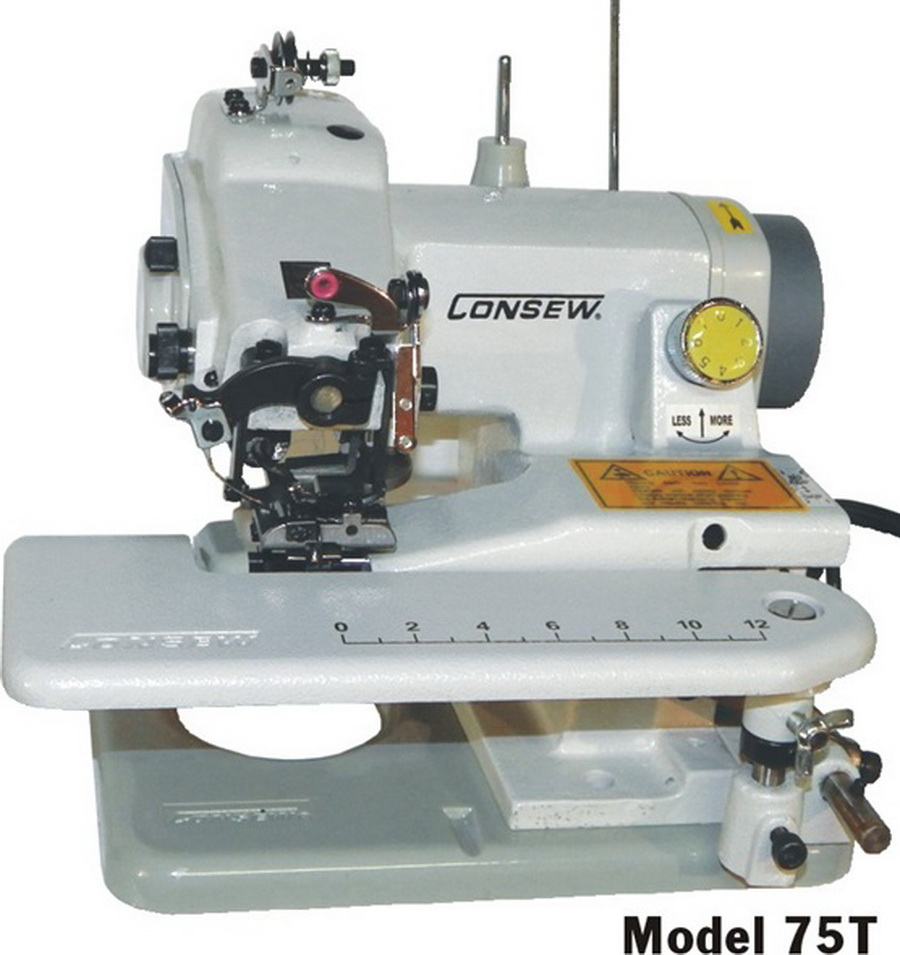 how to use a blind stitch machine