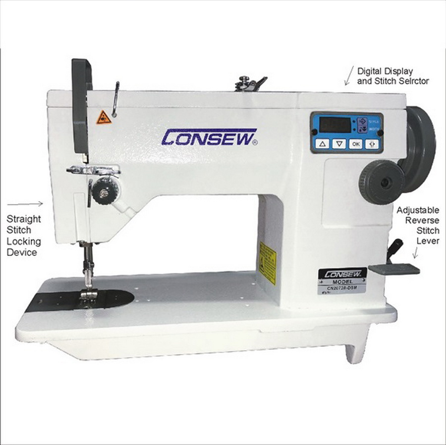 Consew CN2073R-DSM Industrial Machine With Assembled Table and Motor