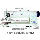 Consew Premier 1255RBL-18 Single Needle Long Arm With Assembled Table and Servo Motor