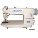 Consew 7360rb-2 Single Needle Lockstitch Sewing Machines With Assembled Table And Servo Motor