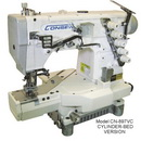Photo of Consew CN897CV-1 Cylinder Bed 2/3 Needle 4/5 Thread Coverstitch Machine from Heirloom Sewing Supply
