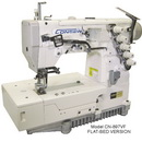 Consew Cn897vf-1 Flat-bed 2/3 Needle 4/5 Thread Coverstitch Machine With Assembled Table And Servo Motor