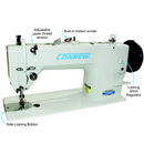 Consew Premier 1206RB Lockstitch Machine with Assembled Table and Servo Motor