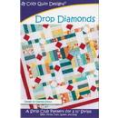 Cozy Quilt Designs - Drop Diamonds Quilt Fabric Kit