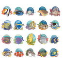Dakota Collectibles Sea Life  Embroidery Designs - 970178