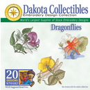 Dakota Collectibles Dragonflies Embroidery Designs - 970182
