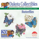 Dakota Collectibles Butterflies Embroidery Designs - 970192
