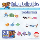 Dakota Collectibles Toddler Trios Embroidery Designs Toddler Trios - 970218