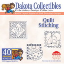 Dakota Collectibles Quilt Stitching Applique Embroidery Designs - 970252