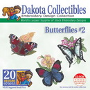Dakota Collectibles Butterflies #2 Embroidery Designs - 970255