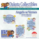 Dakota Collectibles Angels With Verses Embroidery Designs - 970318