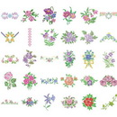 Dakota Collectibles Cross-Stitch 6 Embroidery Designs - 970328