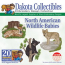 Dakota CollectiblesNorth American Wildlife Babies Embroidery Designs - 970347