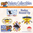Dakota Collectibles Rodeo Round Up Embroidery Designs - 970385