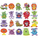 Dakota Collectibles Cute Monsters Fringe 970464