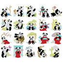 Dakota Collectibles Cute Pandas 970471