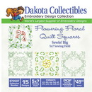 Dakota Collectibles Quilt Square 15 5x7 (970507)