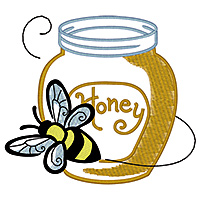 Bee and Honey Pot