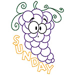 Grapes Sunday