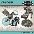 SteampunkD Embroidery CD w/SVG