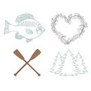 Dime Farmhouse 2 - Lake House Embroidery Designs Collection