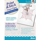 DIME - Print and Stick Target Paper - 25 sheets