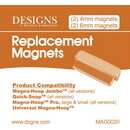 DIME - Magna-Hoop Jumbo and Quick-Snap Replacement Magnets