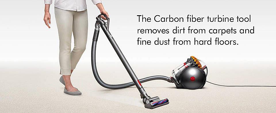 Click for Carbon fiber floor tool video