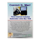 Embrilliance Convert It, Mac - Embroidery Software for Mac (CIM10)
