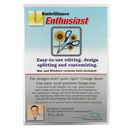 Photo of Embrilliance Enthusiast Embroidery Software for Mac and PC (EHF10) from Heirloom Sewing Supply