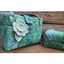 Embroidery Garden Jelly Roll Purse Set