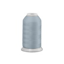 Exquisite Polyester Embroidery Thread - 107 Light Silver 1000M Spool