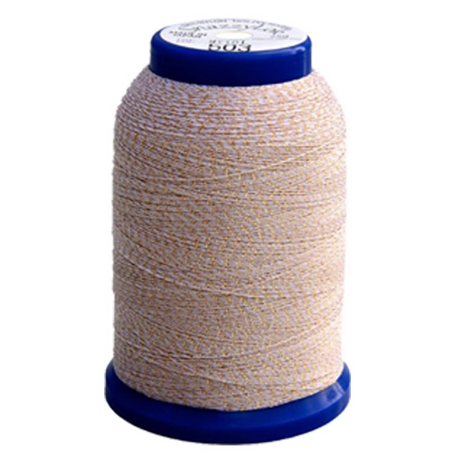 Exquisite Snazzy Lok Serger Thread - A760503 Natural 1000M Spool