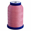 Exquisite Snazzy Lok Serger Thread - A760506 Pink 1000M Spool