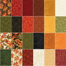 Autumn Leaves 10 in x 10in Fabric Pack (42 Pieces)