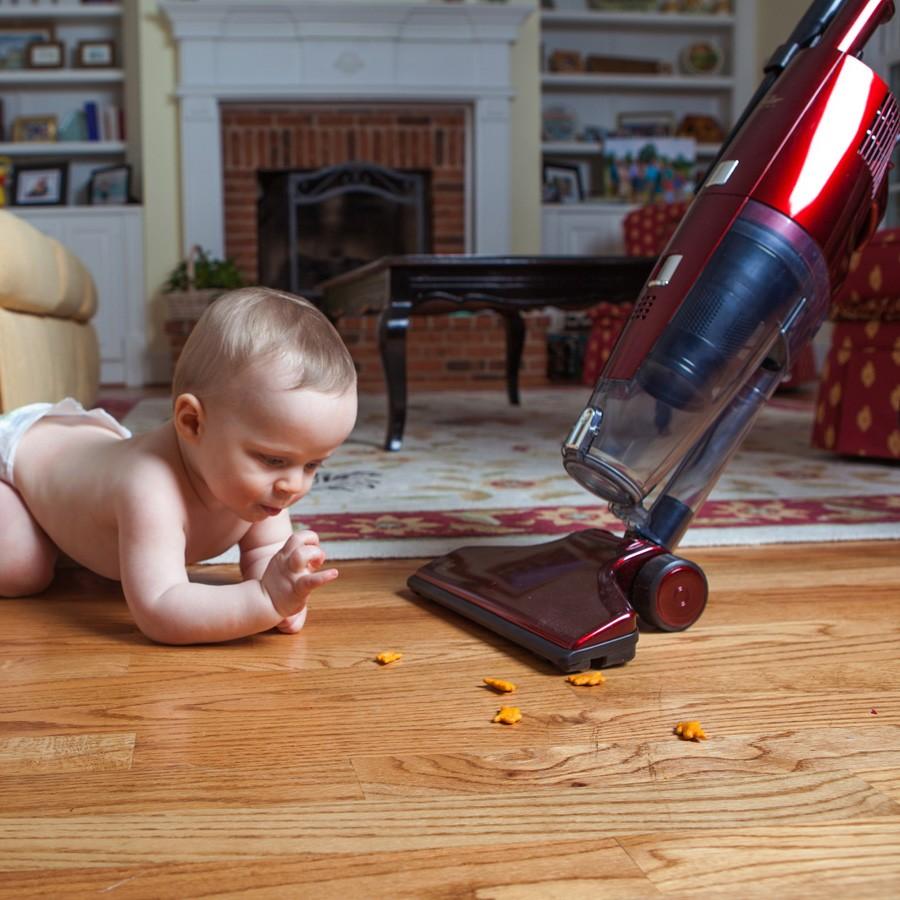 Fuller Brush Spiffy Maid Broom Vacuum Fb Spfm4 Red